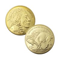 2021 United Statue of Liberty Buffalo Yak In God We Trust Gold Silver Challenge Collectible Coin Gifts Commemorative Coins Fine Collection Gift Home Decoration