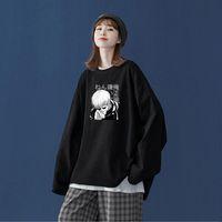 Men's T-Shirts Jujutsu Kaisen Anime Harajuku Tshirts Men Gothic Gojo Satoru Manga T-shirt Unisex Casual Oversized Cotton Long Sleeve T Shirt