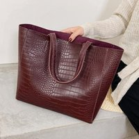 Shoulder Large Fashion Pattern Stone Lux New Bags Female 2021 Women Handbags PU Hand Purses For Travel Trend Leather And Bag Ocbll