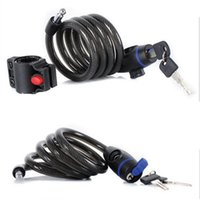 Bike Locks Lock Anti Theft Bicycle Accessories Steel Wire Security Cable Road Motorcycle Equipment