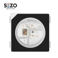 Strips 10 PCS - 100 SK6812 / 3535 RGB Pixel SMD (simile con WS2812B) DC5V a LED a colori digitali indirizzabile