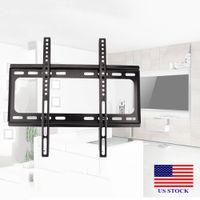 テレビの壁マウントブラケットのサポートLCD LEDフラットチルト26 30 37 42 46 47 50 52 55 C0050 US Stcok