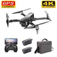 K1 GPS drone avec 50x zoom 4K grand-angle HD double caméra 5G WiFi FPV FPV Vol moteur sans brosse 28 minutes drone avec caméra 210607