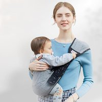 Träger, Schlinge Rucksäcke Multifunktionale Tragbare Atmungsaktive Baby Einzelner Schultergurt Infant Carrier Ergonomische Einstellbare Baumwolle