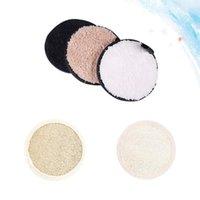 Schwämme, Applikatoren Baumwolle 5 stücke Make-up Remover Puffs Entfernung Pads Pulver Gesichtsreinigung Gesicht Waschgefeuchte (2 stücke LOOFAH Puffs, 3 stücke