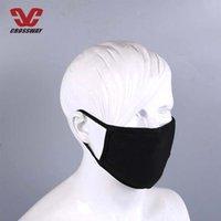 100 pcs máscara de algodão anti-poeira boa qualidade de poeira boca máscara rosto homem mulher ciclismo vestindo respirável preto branco moda máscaras