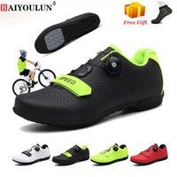 MTHEAP Radfahren Schuhe SPD Cleat Männer Outdoor Atmungsaktiv Selbsthemmung Mountainbike Frauen Fahrrad Racing Sneakers MTB 210702