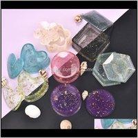 الخرز الايبوكسي العفن كريستال الراتنج قوالب diy صنع المجوهرات تخزين sile box هدية أدوات wmatsv wb58v ejpvw