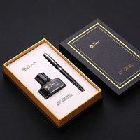 Picasso 717 القلم مكتب الأعمال المالي القلم الخط المعدني نافورة القلم قلم رصاص صندوق صغير الحبر هدية مجموعة