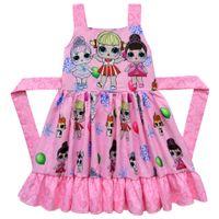 Girls Suspender Skirts Summer Princess Dresses Kids Designer Clothes Ball Gown twirl Dress Dance Party Elegant for Baby boutique Children's clothing