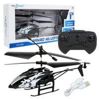 Mini RC Helicopter Radio Control Remoto Aviones 2Channel Electric Flying Drone Drone Game Game Modelo de cumpleaños Juguete para niños 210325