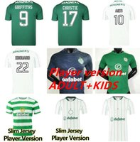 21 22 Jerseys de futebol celta Versão do jogador McGregor Griffiths 2021 2022 Klimala forrest Brown Christie Edouard Bayo Casa Homens Crianças Futebol Camisas