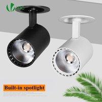 Tavan ışıkları LED gömme spot koçanı Yüzey Monte 85 V-260 V 10 W12W 15 W 18 W 20W30W Giyim Mağazası Downlight Açıklığı