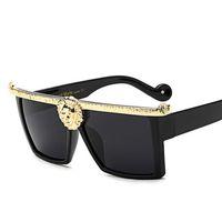 جديد مصمم أزياء مربع النظارات الشمسية النساء الرجال النظارات الشمسية الفاخرة الحديثة أنيقة نظارات الشمس UV400 Y200619