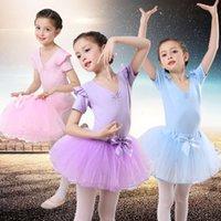 Giyim Fiziksel Çekimleri Etek Uygulama Kısa Çocuk Kızın Dans Balesi Drs Yaz