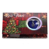Süßwasser Perle Halskette Weihnachtsbäume Stile Liebe Wunsch Perlen Herz Käfig Halter Box Giftabh732 Ketten