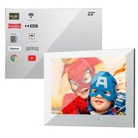 SOLLACA 22 дюймов Smart Magic Mager Television для ванной комнаты сауна водонепроницаемый душ Android 10.0 WiFi TV