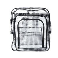 Унисекс антистатический четкий рюкзак путешествия сумки на плечо PVC rucksack Инженерные инструменты сумка