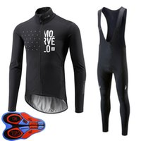 2021 Morvelo team Men Cycling long Sleeves jersey bib pants sets Factory direct sales autumn mtb bike outfits bicycle clothing Sports Uniform Y21052503