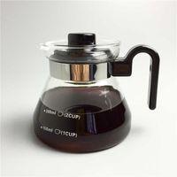 350mlのティーポットコーヒーサーバー水ケトルティーポット耐熱ガラスは直接炎の加熱することができます