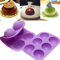 Mode-Haus-Küche-Produkte Kreative Silikon-Schokoladenform-Kuchen-Süßigkeit Backwerkzeuge Großhandel