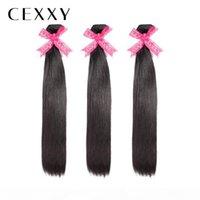 """[CEXXY] Орекут волосы прямые 8 """"-40 дюймов P бразильские девственные волосы натуральный цвет 100% человеческих девственников волос пакеты 1 3 4 шт."""