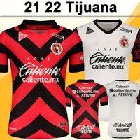21 22 Мексика Tijuana Soccer Jersey Ruiz Manotas Martinez Родригес Rivera Barbona Home Red Alet Прочь Белый Футбол Рубашки Униформа с коротким рукавом
