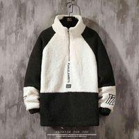 الرجال الصوف يمزج سميكة الدافئة الكشمير سترة الشباب القطن فضفاضة معطف الأزياء الصلبة الشتاء جودة عالية الذكور ضئيلة زائد الحجم GP70