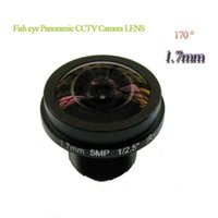 Lens Marviosec 5MP 1 2.7 Inch M12 Interface 1.7mm Fisheye 180 Degree View Angle CCTV Suitable For Kinds Of IP AHD CVI Camera