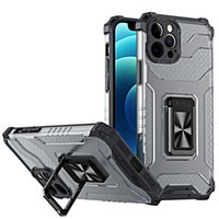 Armor Bracket Function Defender Phone Cases For iPhone 13 Pro 12 mini 11 XS Max XR 7 8 SE2020 Samsung S21 Fall Resistant Camera Protection Case