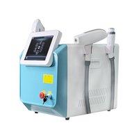 High Technology 3 en 1 Multifunción E-Light IPL RF ND-YAG Cabello láser y Máquina de eliminación de tatuajes Equipos de belleza