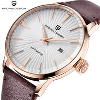 Erkek Saatleri Klasik Mekanik Deri Lüks Otomatik İş Su Geçirmez Saat Adam Relogio Masculino PD-2770 Saatı