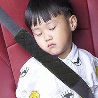 Cintos de segurança acessórios EAFC bebê crianças cinta grossa tecido de pelúcia carro travesseiro macio ombro proteção almofada almofada cinto de pescoço