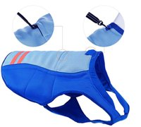 Summer Dog harness Cooling Vest Breathable Coat Outdoor Sunscreen Jacket Refreshing Cool Clothes For Dogs Pet Clothing