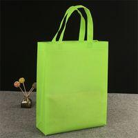 1 pc Saco de compras ambientais reutilizável bolsas de lona nonwoven sacolas de armazenamento de compras bolsas de compras lisas de compras 1337 v2