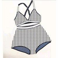 بيكيني ملابس السباحة ملابس السباحة للنساء مصمم الاستحمام الدعاوى اللباس السراويل قميص اثنان قطعة انقسام عبر حزام بانت انها مرونة جدا 35-60kg1