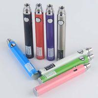 ADEDI 10 adet Orijinal Ugo VII ECIG Vape Kalem Pil 650/900 mAh Mikro USB Kablosu Şarj Cihazı Şarj Edilebilir Buharlaştırıcı 510 Konu Piller