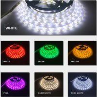 Pool & Accessories 500CM Strip LED Light Colorful RGB Waterproof 24 Key Remote Controller Flash Lamp TV Backlight Desktop Lights