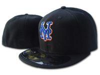 ميتس قبعات القبعات قبعات البيسبول الكبار شقة الذروة الهيب هوب هيوستن كاب الرجال النساء الكامل مغلق gorra