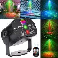 LED Effects Mini RGB Disco Light DJ Laser Stage Projector Red Blue Green Lamp Wedding Birthday Party Lamps