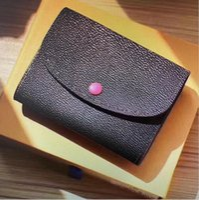 M41939 Rosalie عملة محفظة مصغرة Pochette قصيرة محفظة المرأة حاملي بطاقة مدمجة جلدية غريبة جلد إميلي سارة فيكتورين محافظ 41939
