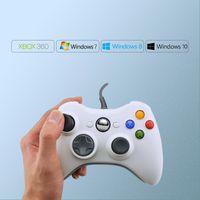 تحكم اللعبة المقود GTIPPOR USB سلكي Gamepad ل Xbox 360 Controller Joystick Windows 7 8 10 Official Microsoft PC
