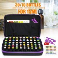 Storage Bags 30 70 Bottles Essential Oil Case 15 ML Perfume Box Travel Portable Carrying Holder Nail Polish Bag