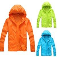 Manteau de peau sèche rapide Sunscreen imperméable UV Femmes minces armées Outwear Ultra-Light Windbreake Jacket Femmes Manteau coupe-vent Jacke X0710