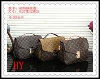 LVLOUIS Handbags VITTON ONTHEGO 2021 Satchel Shoulder Bag Chain Handbags Crossbody Purse Lady Leather ClassicLadies Tote Bags