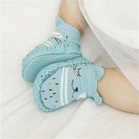 Младенческие первые ходунки кожаные детские туфли из хлопка новорожденного малыша мальчик обувь мягкой подошвой осенью зима младенцев обувь для девочки 1052 y2