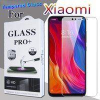 Advanced protection tempered glass Cell Phone screen protector for Xiaomi Mi9 8SE 8X Pro 6Plus 6X 9T 9X CC9E Redmi Note 7 HD half with retail packaging