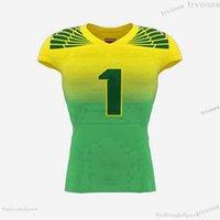 Mens Womens Kids Custom Football Jerseys CUSTOMIZE NAME NUMBER Black WHite green Blue Stitched Shirts Jersey S-XXXL BV13