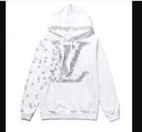 흑인 화이트 패션 스웨터 남성 까마귀 면화 자켓 ZZC034 새로운제목루이스가방vitton.ysl.여자들