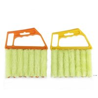 أدوات التنظيف مفيدة ستوكات نافذة نظيفة فرشاة مكيف الهواء المنفضة منظف مع قابل للغسل البندقية HWB6129